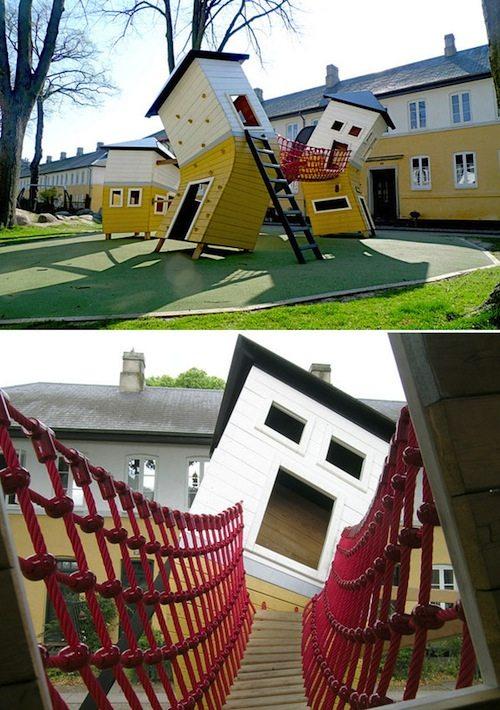 10. Brumleby Playground GÇô Copenhagen, Denmark