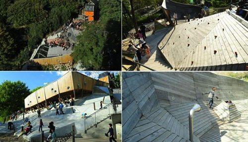 3. Belleville Park Playground GÇô Paris, France