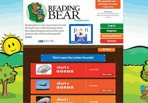 ReadingBear
