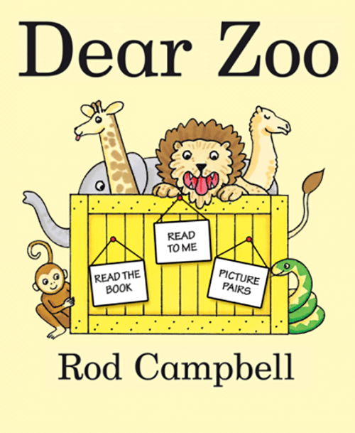 14. Dear Zoo by Rod Campbell