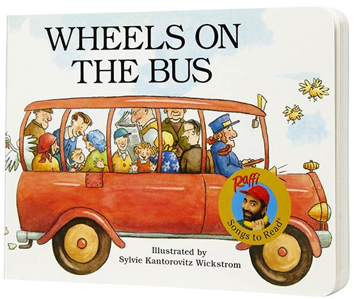 24. Wheels on the Bus by Raffi