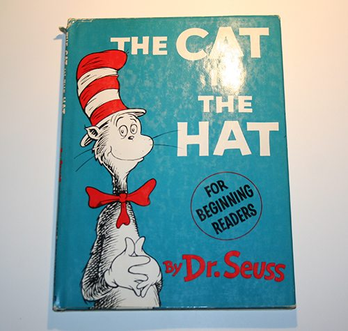 3. The Cat in the Hat by Dr. Seuss