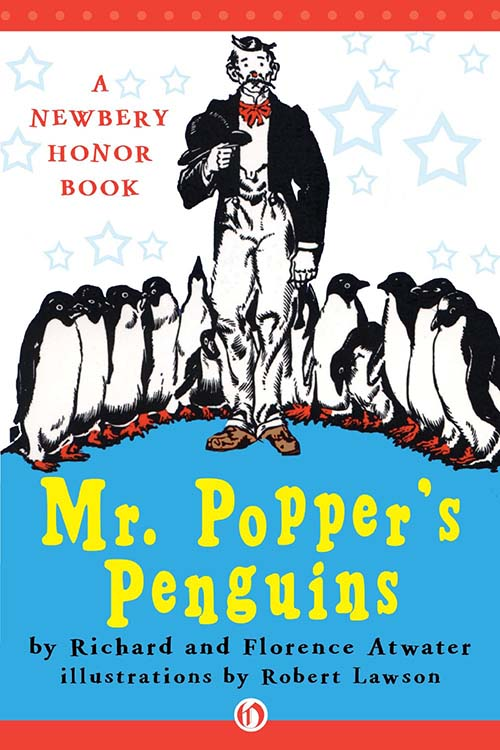 35. Mr. Popper's Penguins by Richard Atwater