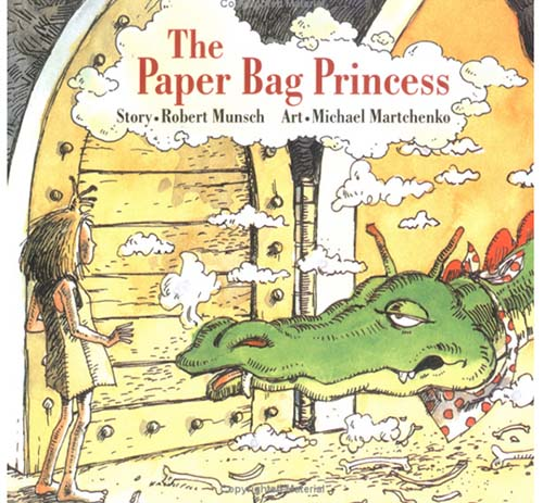 39. The Paper Bag Princess by Robert Munsch