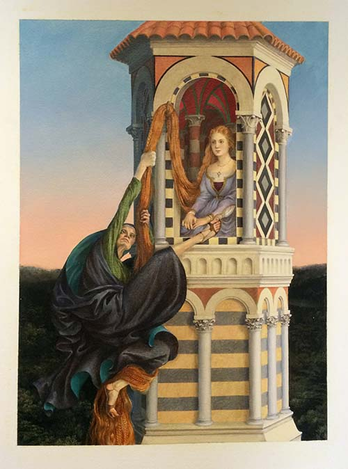 43. Rapunzel by Paul O. Zelinsky