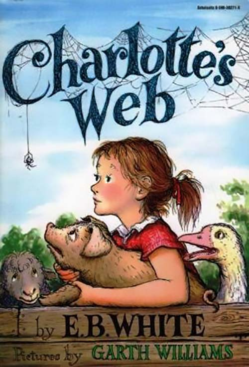 45. Charlotte's Web by E.B. White