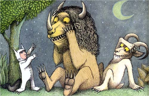 49. Where the Wild Things Are by Maurice Sendak