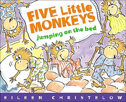 9. Five Little Monkeys Jumping on the Bed by Eileen Christelow