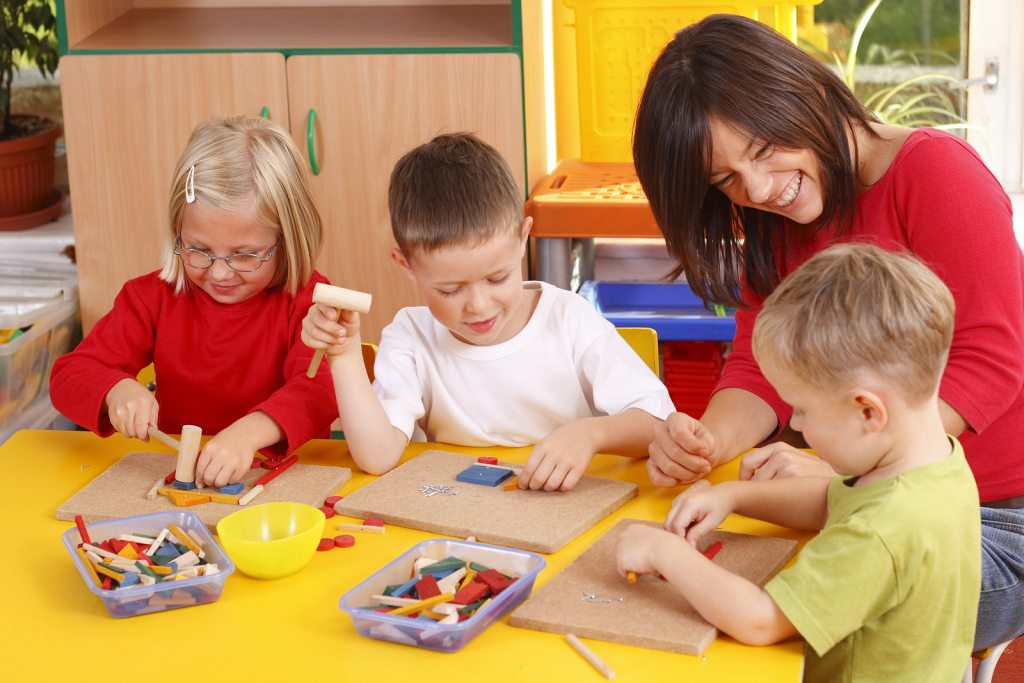 bigstock teacher and three preschoolers 16752086