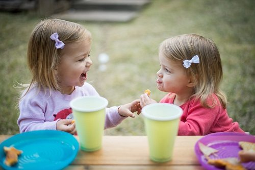 4. Can play together cooperatively with other children