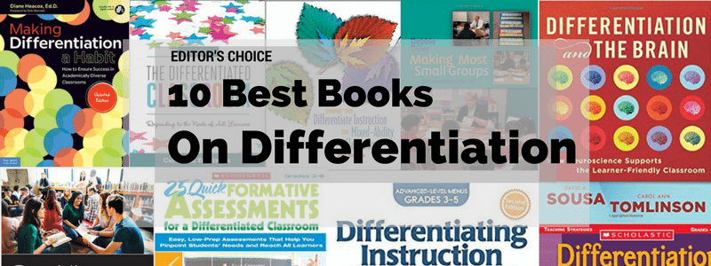 The 10 Best Books On Differentiation In The Classroom Early