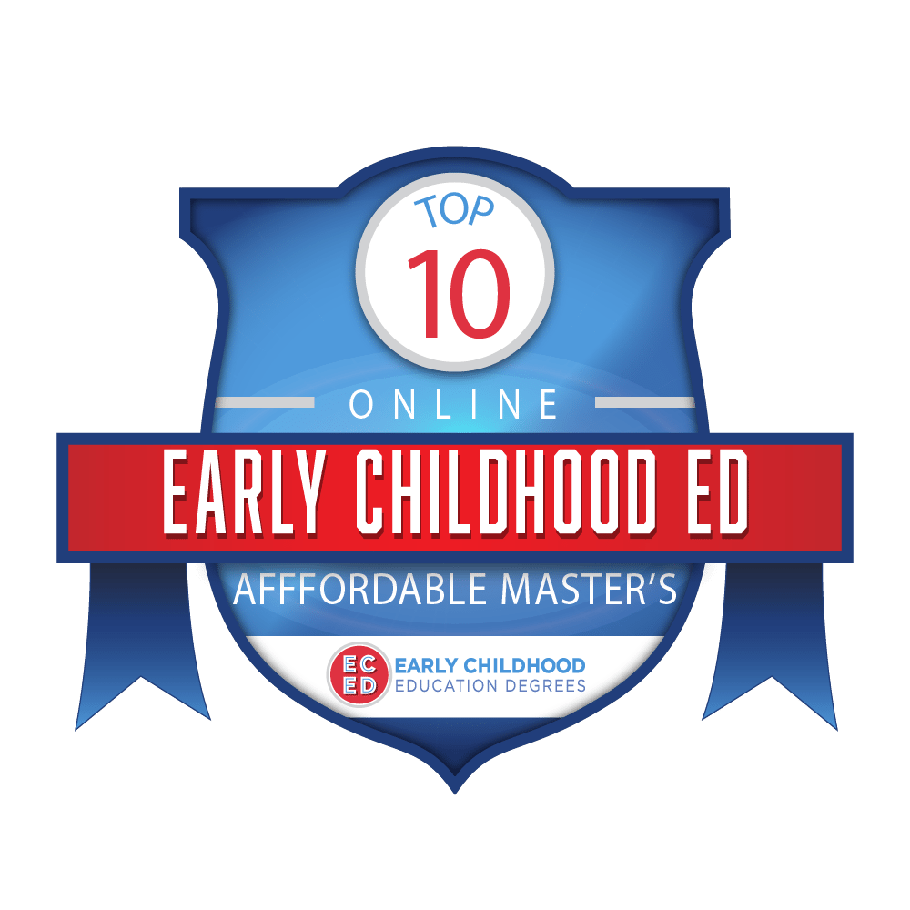 most affordable masters early childhood ed eced badge 01